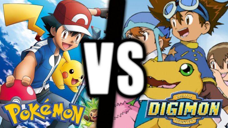 Alasan Digimon Lebih Baik Dari Pokemon